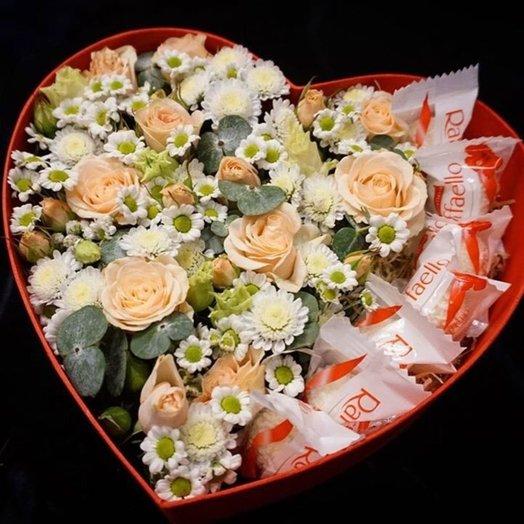 """Композиция """"Пудра"""": букеты цветов на заказ Flowwow"""