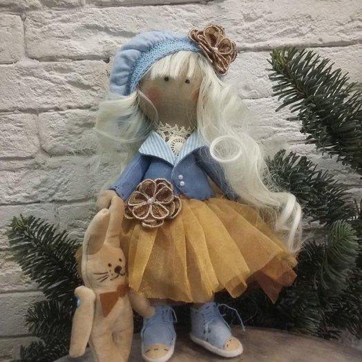 Текстильная кукла: букеты цветов на заказ Flowwow