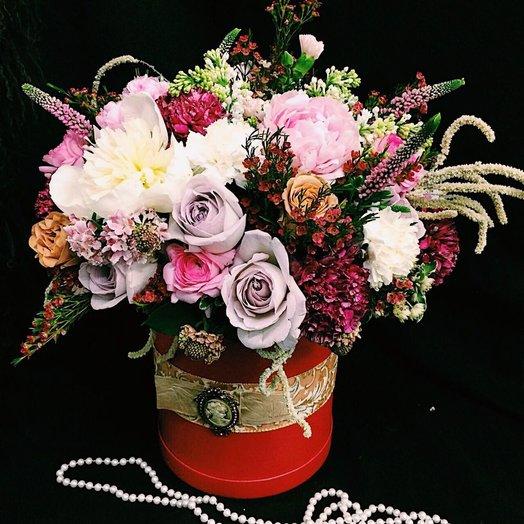 Роскошная классика: букеты цветов на заказ Flowwow