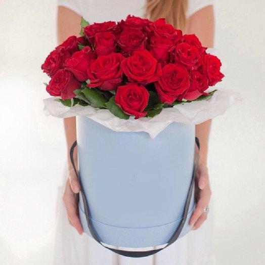 """Коробка из роз """"Florego"""""""