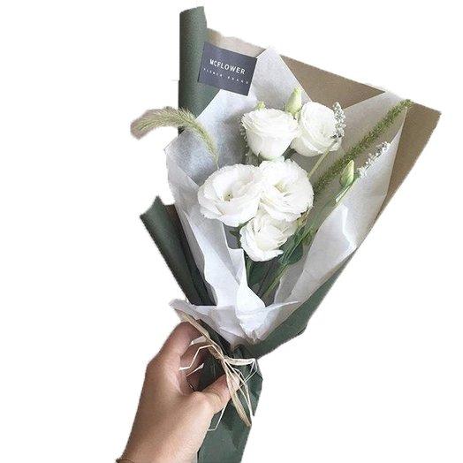 "Шикарная ""ираландская роза "" или лизиантус : букеты цветов на заказ Flowwow"