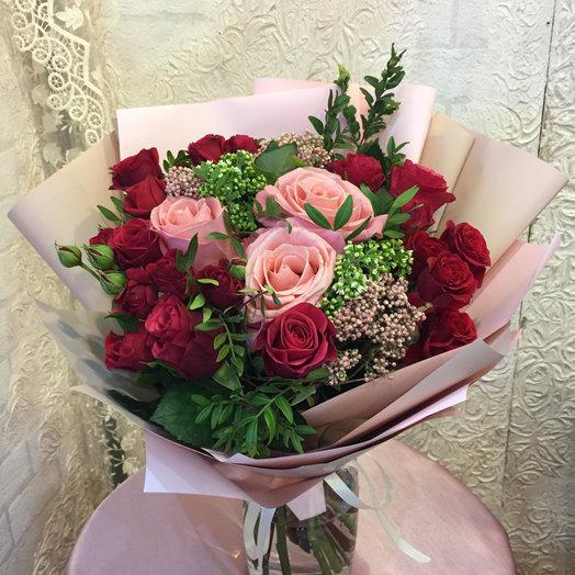 Букет «Поздравляю»: букеты цветов на заказ Flowwow