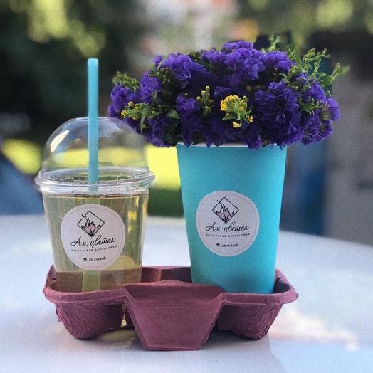 Цветы и кофе : букеты цветов на заказ Flowwow