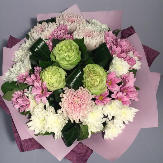 Сборный нежный букет: букеты цветов на заказ Flowwow