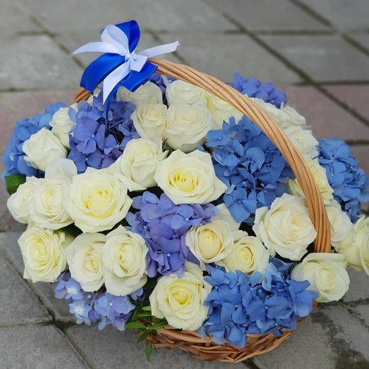 Изысканная корзина: букеты цветов на заказ Flowwow