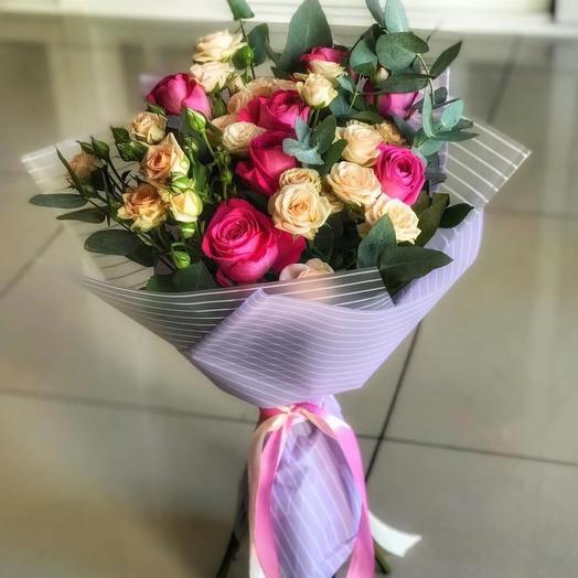 Букет «мечтатели»: букеты цветов на заказ Flowwow