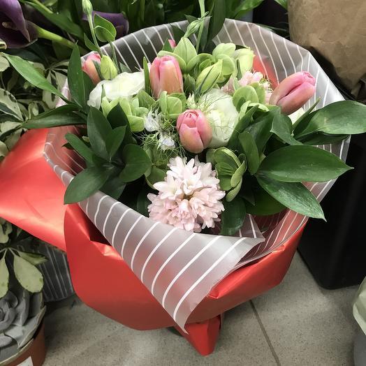 Ласковая фортуна: букеты цветов на заказ Flowwow