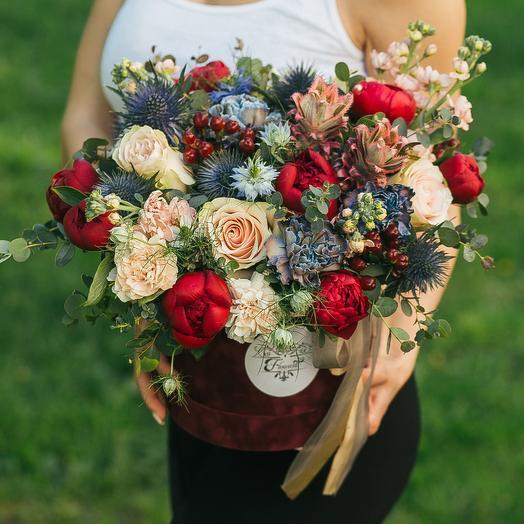 Поцелуй огня: букеты цветов на заказ Flowwow