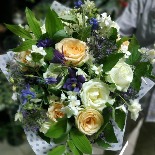 Ароматное утро в саду: букеты цветов на заказ Flowwow