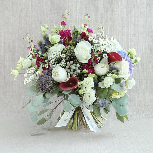 "Большой букет ""Для Рака"": букеты цветов на заказ Flowwow"
