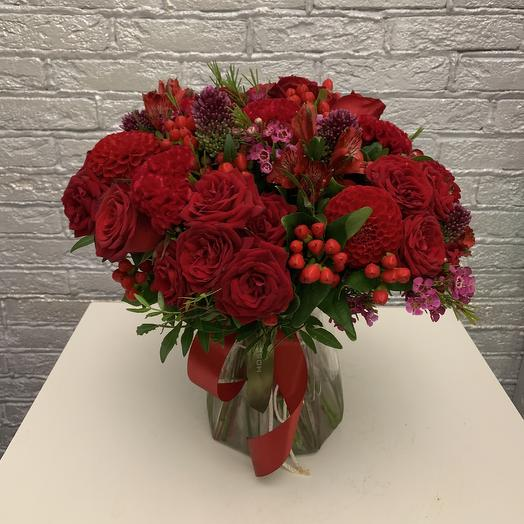 Букет 1: букеты цветов на заказ Flowwow
