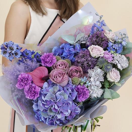 Воздушная идиллия: букеты цветов на заказ Flowwow
