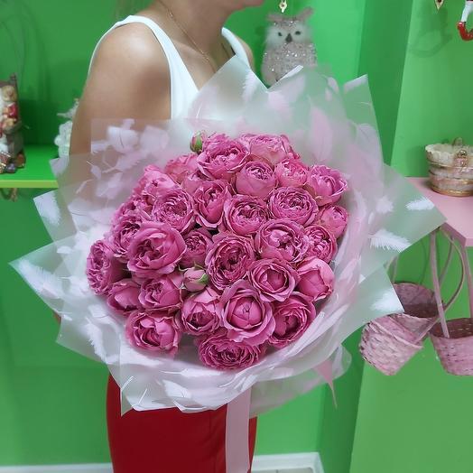Букет из 19 Мисти баблс: букеты цветов на заказ Flowwow