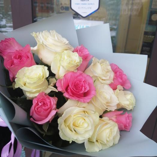 Охапка нежной красоты: букеты цветов на заказ Flowwow