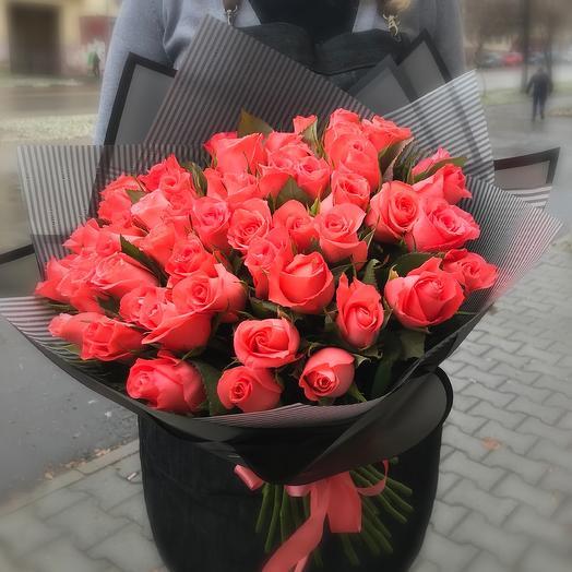 51 коралловая роза
