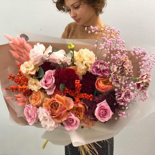 Малиновые облака: букеты цветов на заказ Flowwow