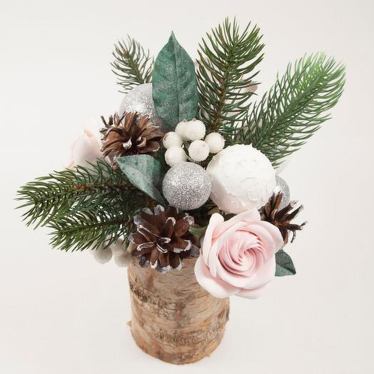 Новогодняя тайна: букеты цветов на заказ Flowwow