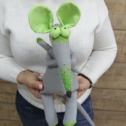 Крыса - символ года ручной работы: букеты цветов на заказ Flowwow