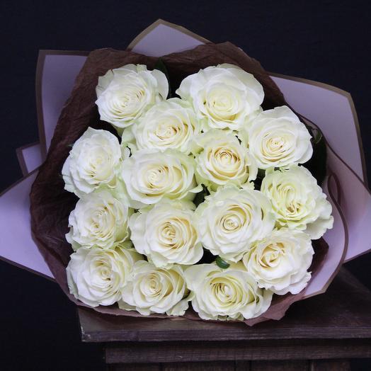 Розы Premium «Madrid»: букеты цветов на заказ Flowwow