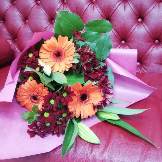 Торжество чувств: букеты цветов на заказ Flowwow