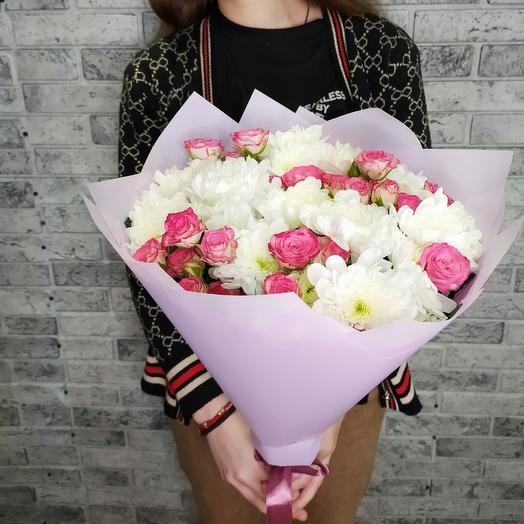Букет номер 3: букеты цветов на заказ Flowwow