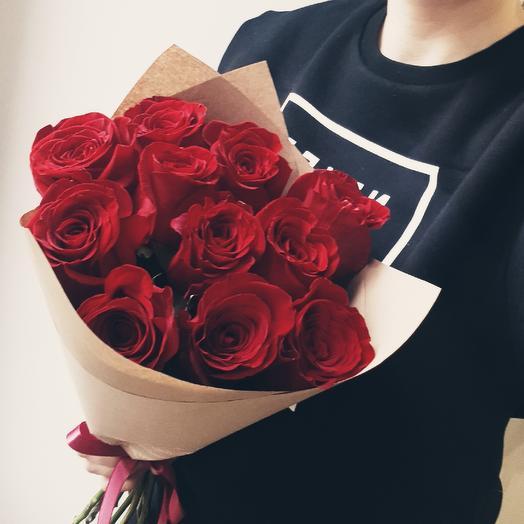 """Букет """"Страсть"""": букеты цветов на заказ Flowwow"""