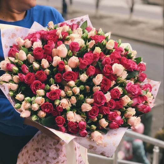 Невероятно красивый букет: букеты цветов на заказ Flowwow