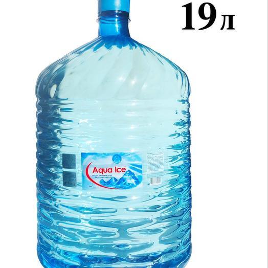 Aqua Ice - питьевая вода 19 л: букеты цветов на заказ Flowwow
