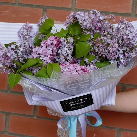 Сиреневый сад: букеты цветов на заказ Flowwow