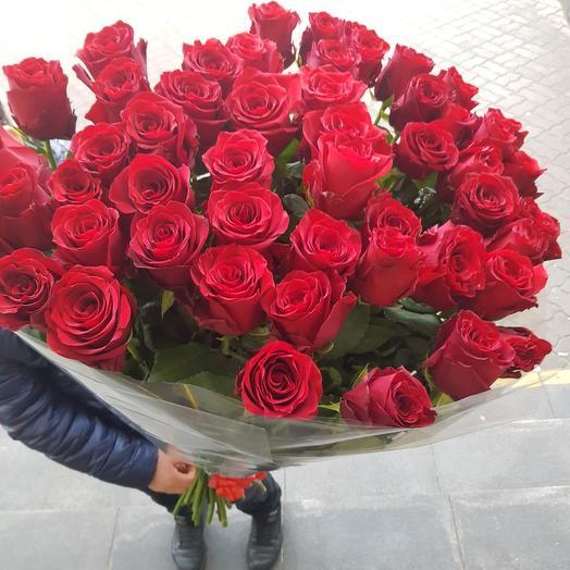 Роза гигант красная: букеты цветов на заказ Flowwow