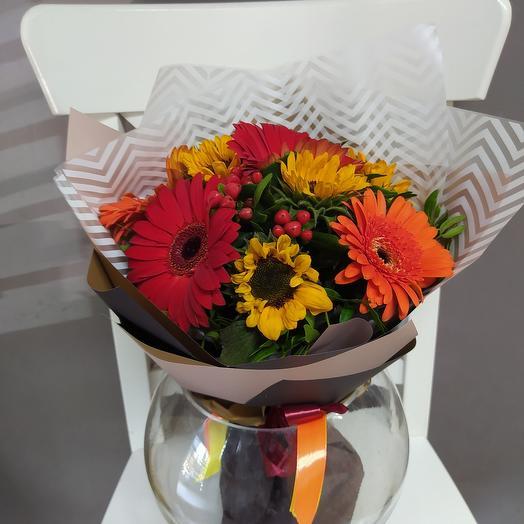 Букет Летнее настроение: букеты цветов на заказ Flowwow