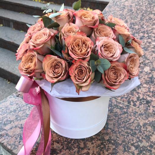 Эксклюзивные розы в коробке