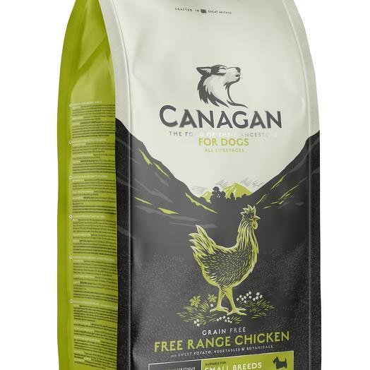 CANAGAN Grain Free, Free-Run Chicken беззерновой сухой корм для собак мелких пород всех возрастов с курицей 500 г