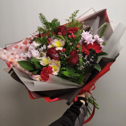 Prefab bouquet