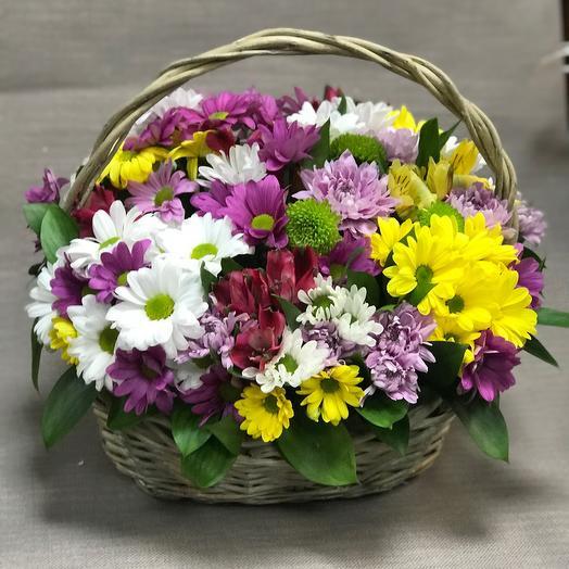 Цветочные корзины радости🌹