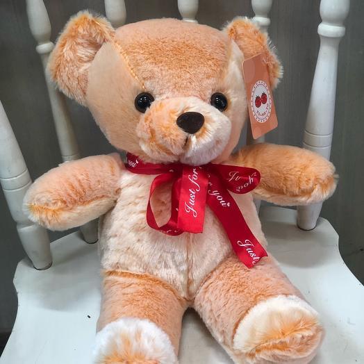 Мягкая игрушка «Медведь Персик»