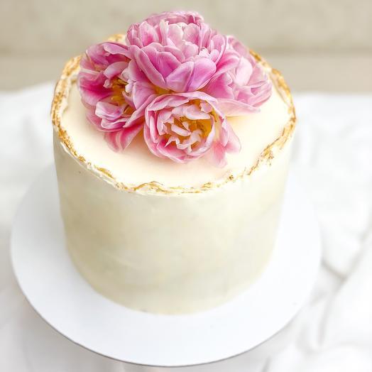 Торт «Тюльпаны»