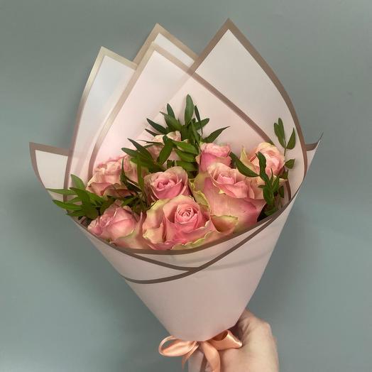 Букет из 9 Кенийских роз