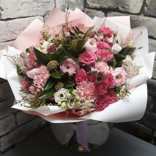 Розовая зефирка