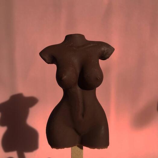 Шоколадная фигура «Женское тело»