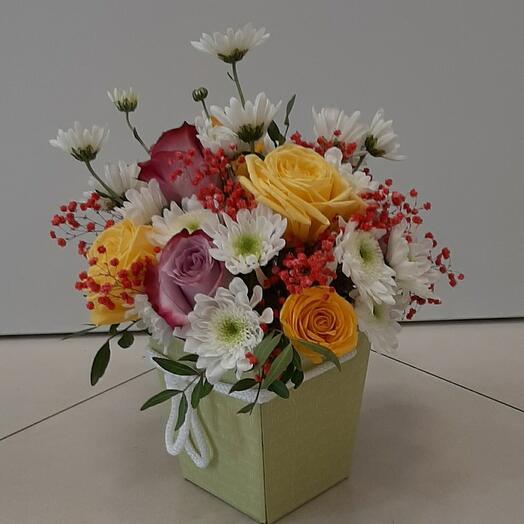 Цветы в коробке(Вдохновение)
