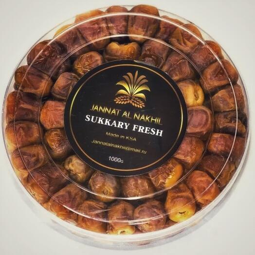 Финики арабские Sukkary Fresh (- 500г) 1уп
