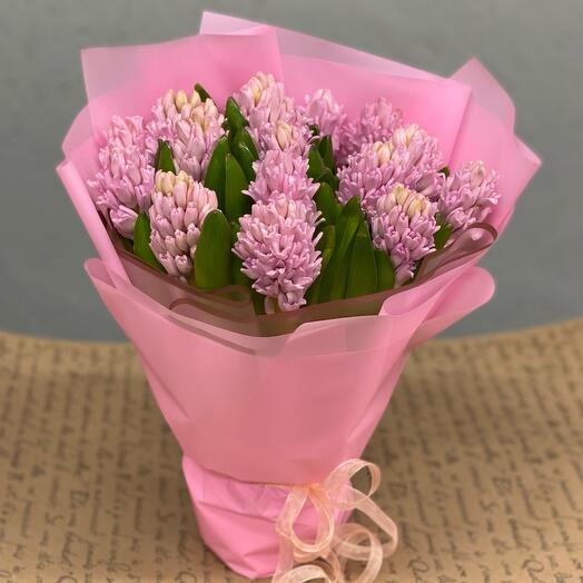 Букет Розовые гиацинты 💗