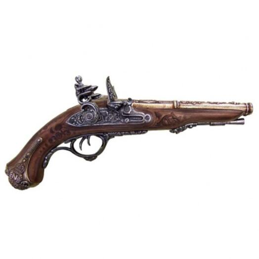 Пистоль двуствольный, изготовлен для Наполеона 1806 г
