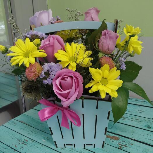 Цветочное лукошко 2