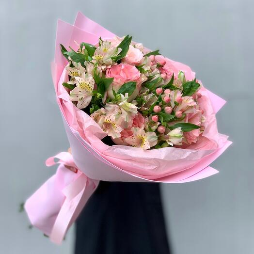 """Bouquet with taste"" S pink"