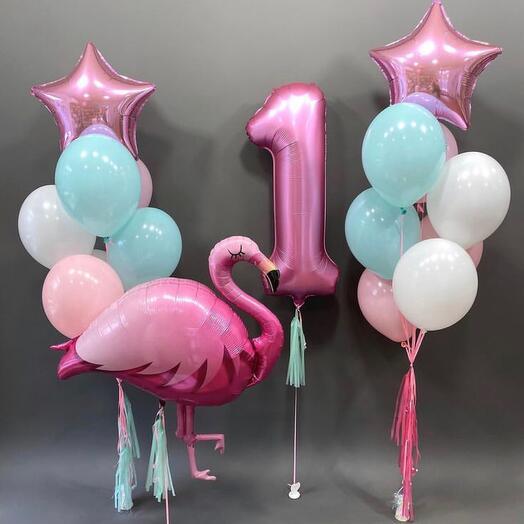 Сет фламинго