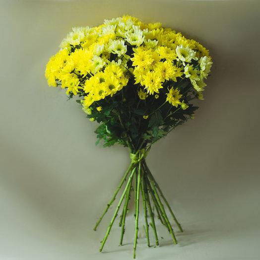 Букет из 11 хризантем: букеты цветов на заказ Flowwow