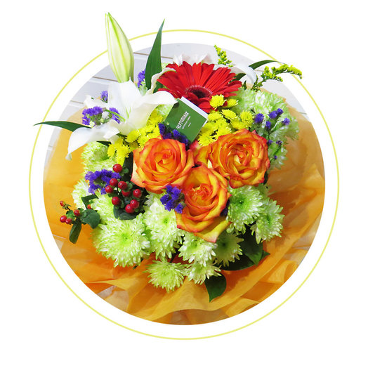 Букет Хорошее настроение: букеты цветов на заказ Flowwow