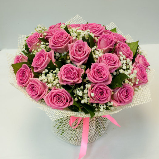 Букет цветов Розовое кружево: букеты цветов на заказ Flowwow